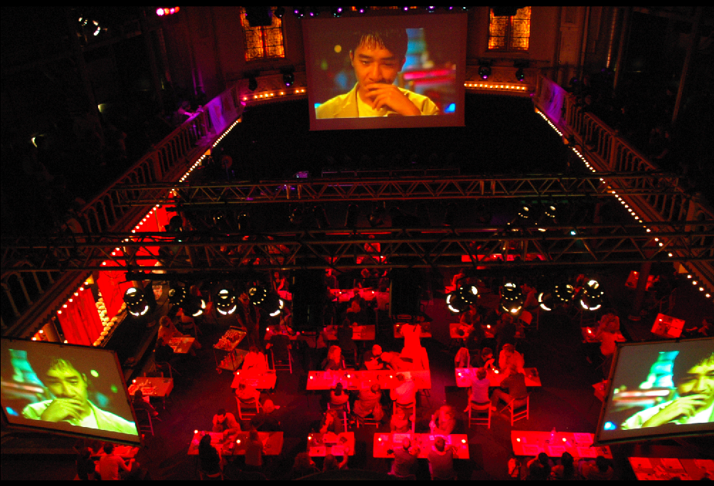 Screen Cuisine, Paradiso Amsterdam, The Netherlands October 2016