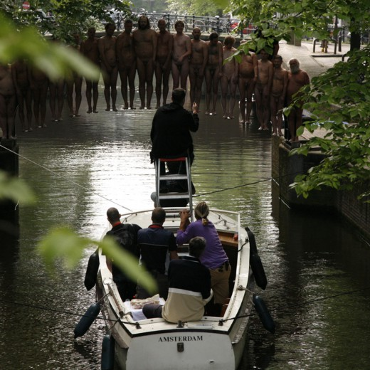 Spencer Tunick, Leliegracht