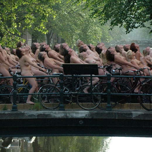 Spencer Tunick, Lijnbaansgracht