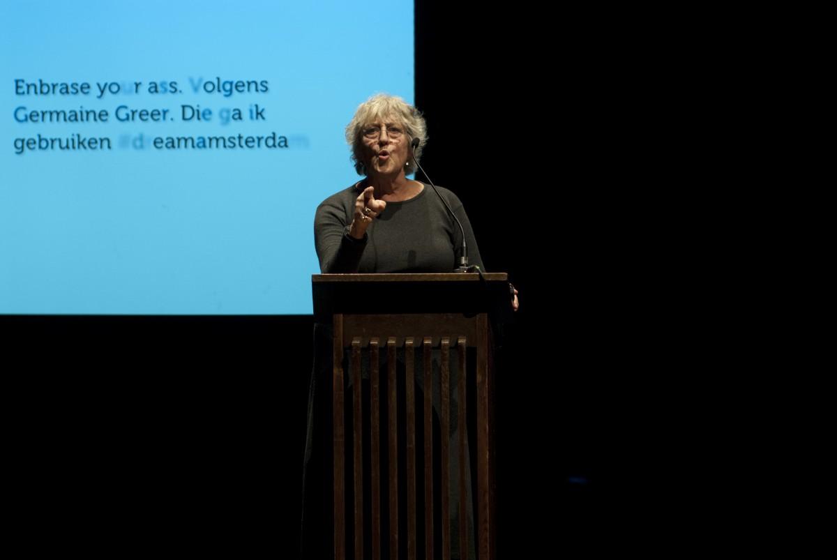 Keynote speaker Prof. Germaine Greer