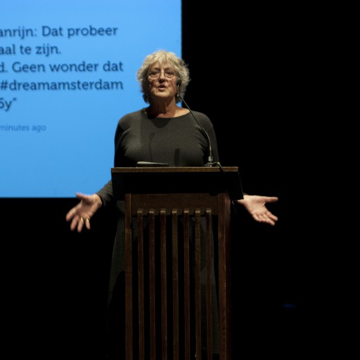 Keynote speaker Prof. Germaine Greer
