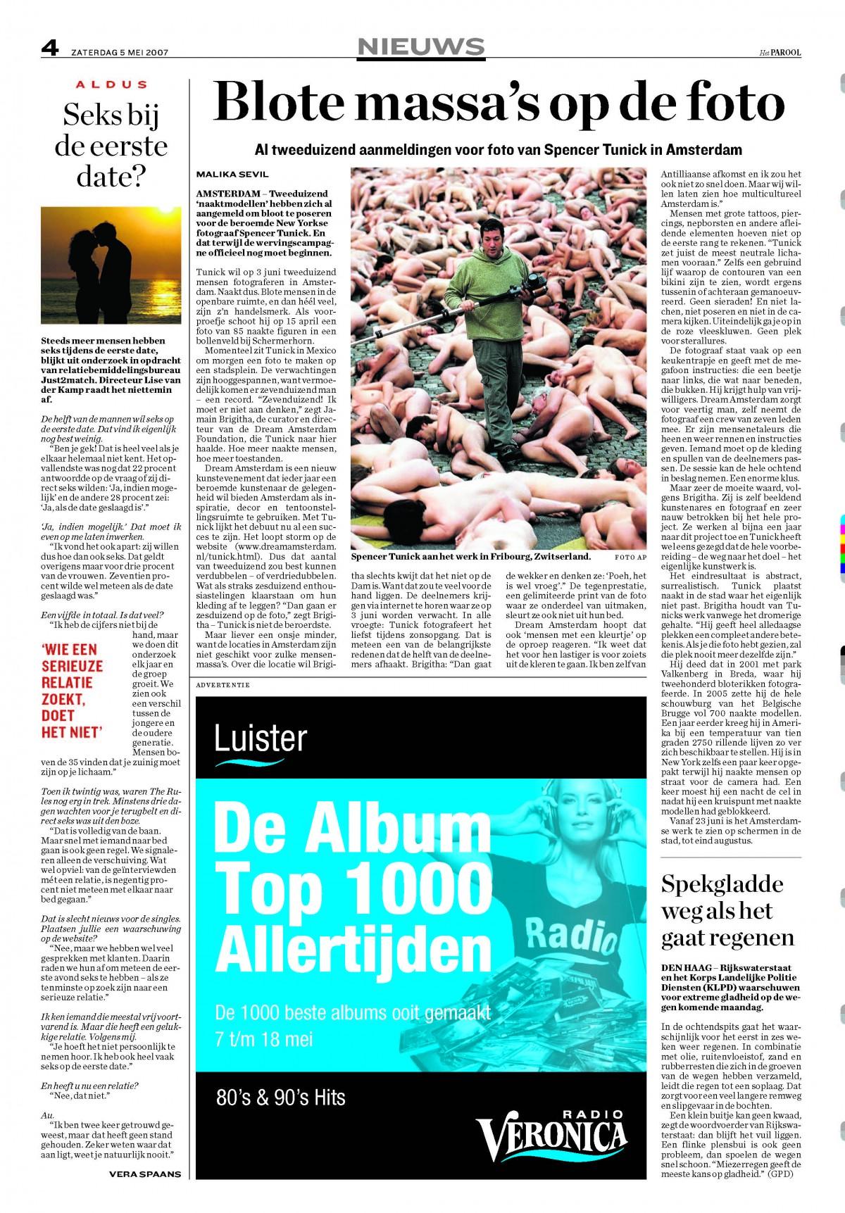 Het Parool, May 2007