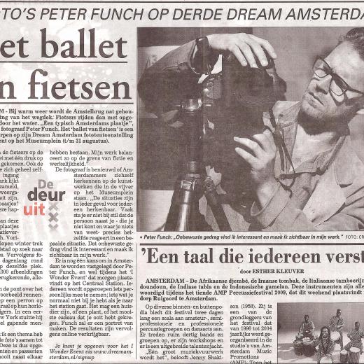 De Telegraaf, June 2009
