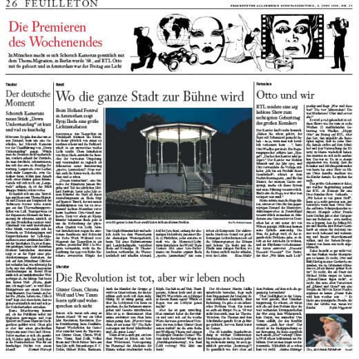 Frankfurter Algemeine Zeitung, June 2008