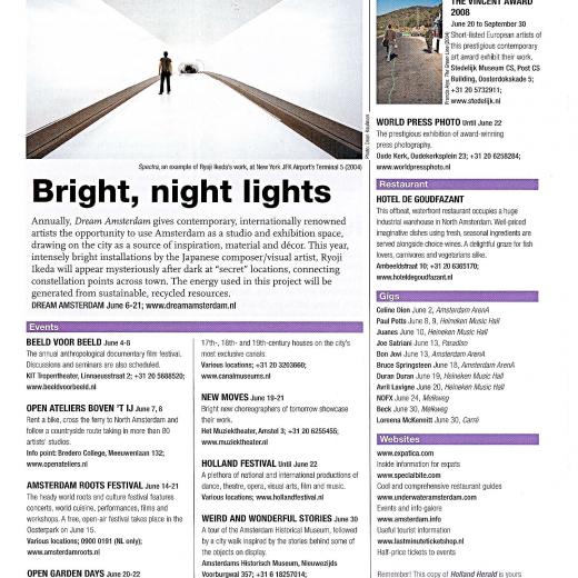 KLM Holland Herald, June 2008