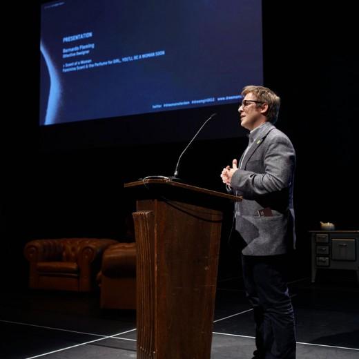 Presentation olfactive designer Bernardo Fleming