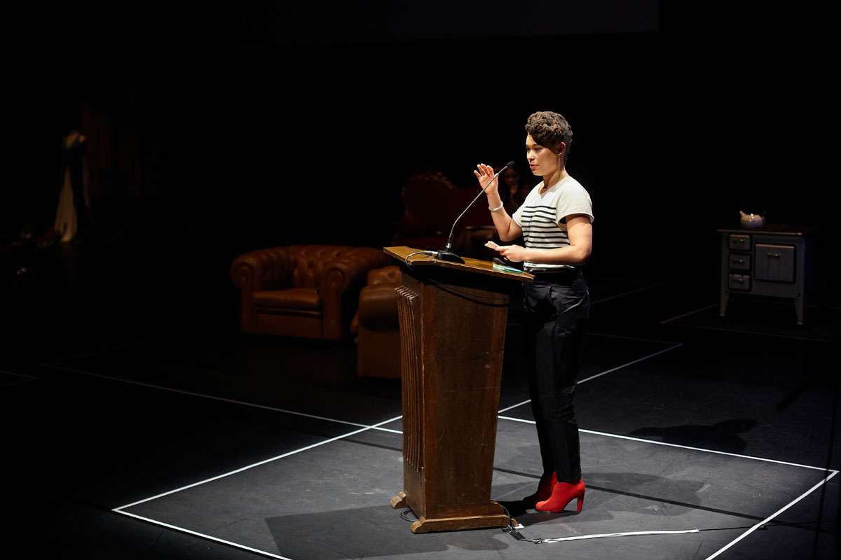 Keynote speaker architect Afaina de Jong
