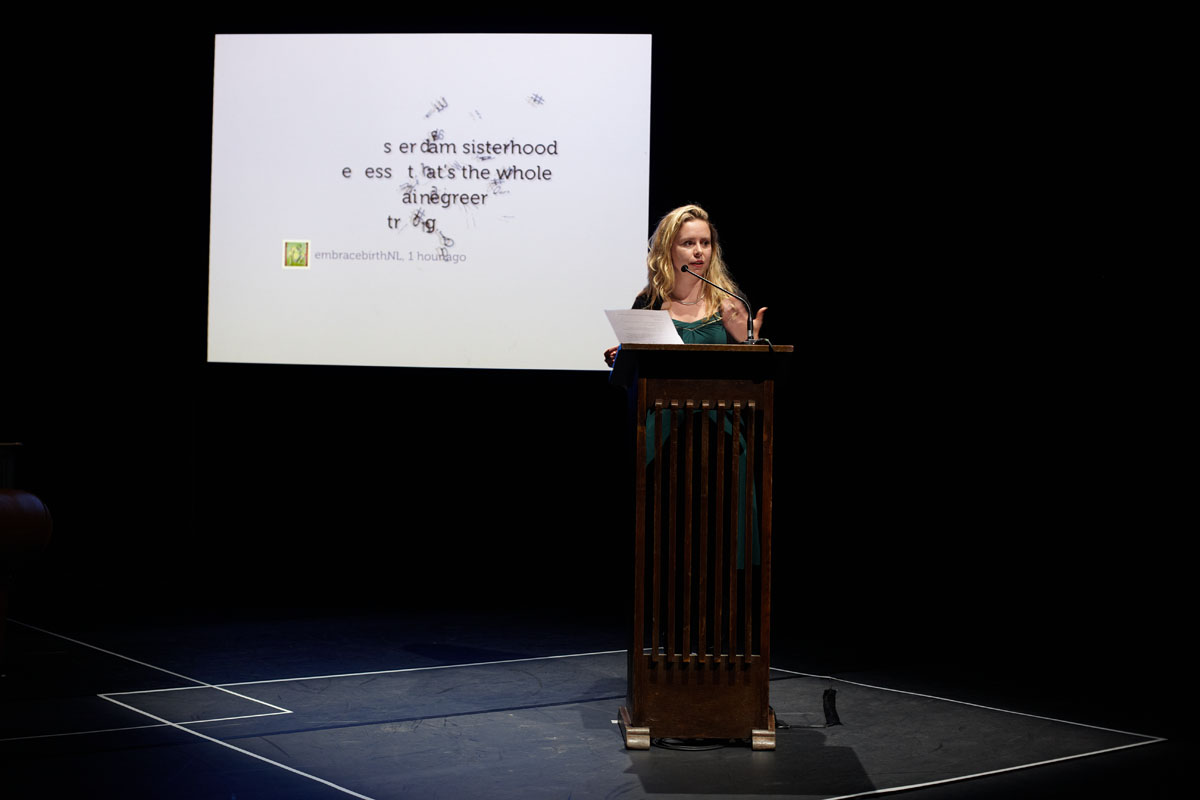 Keynote speaker film director Sunny Bergman