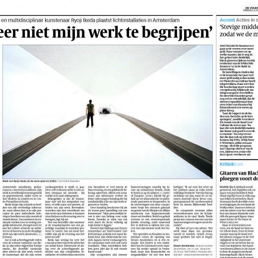 De Volkskrant, Juni 2008