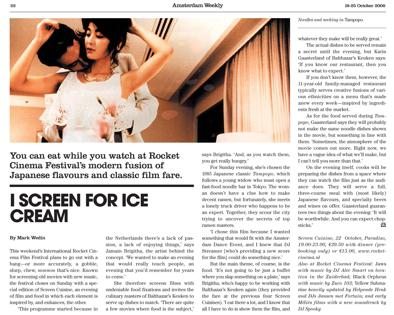 AmsterdamWeekly_Issue41_19October-22