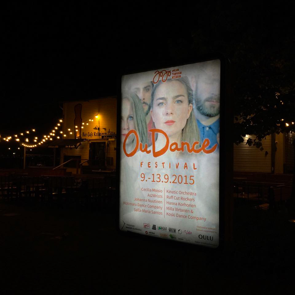 Campaign Image Oudance Festival 2015 (Oulu, Finland)
