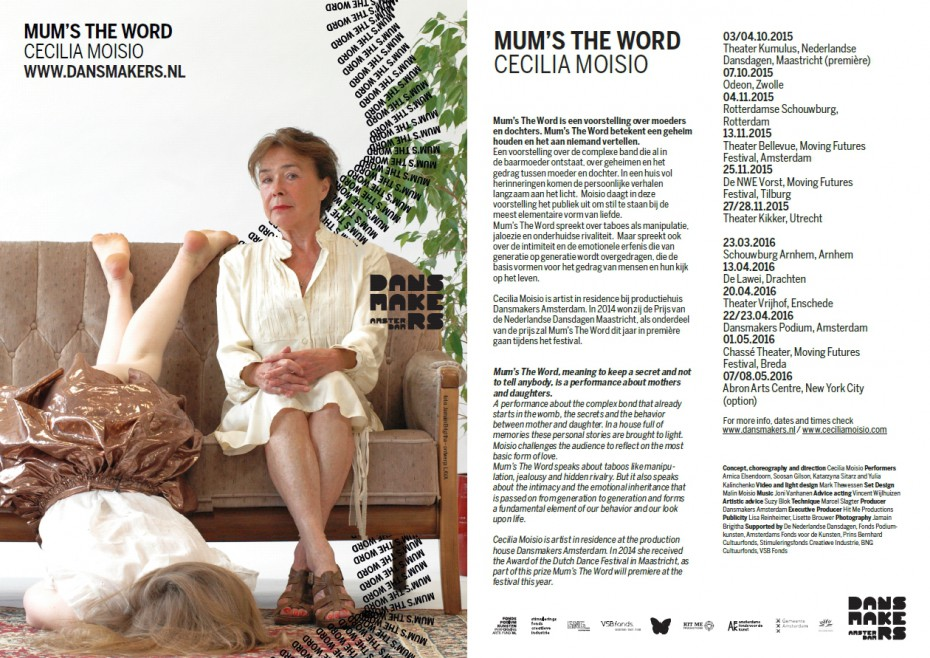 Mum's The Word by Cecilia Moisio